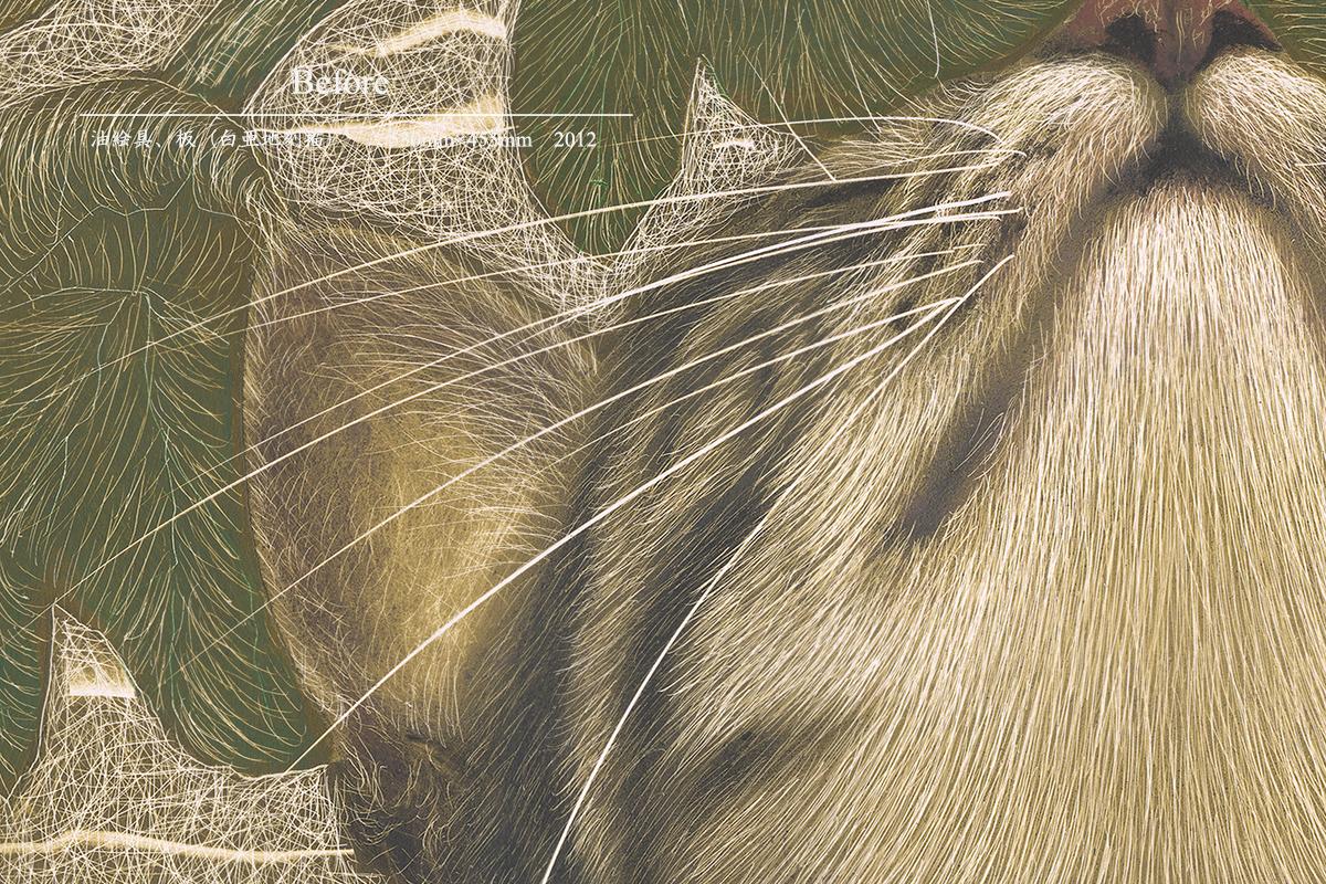 猫|金子豊文画『Before』