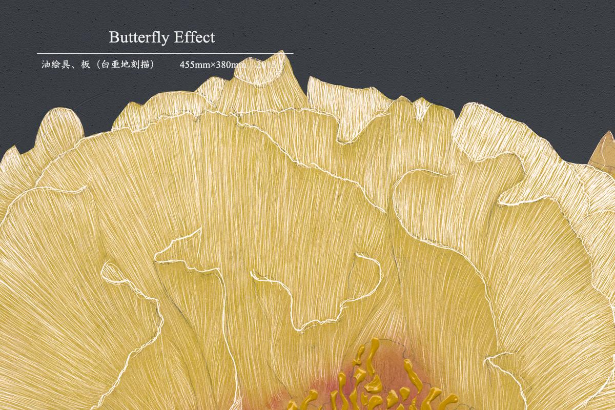 金子豊文『 Butterfly Effectの部分拡大』