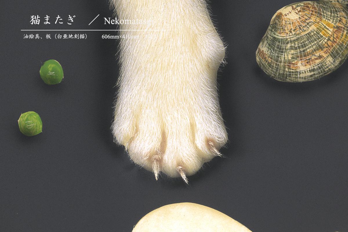 金子豊文『Nekomatagiの部分拡大』