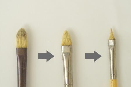 画材の神さま|筆について