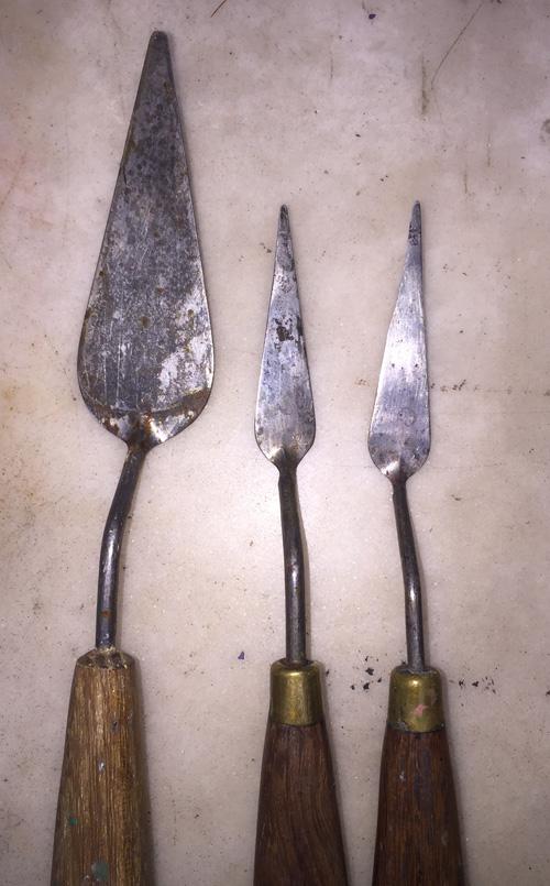 鍛造ペインティングナイフ