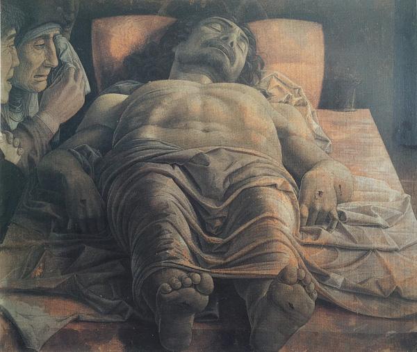 死せるキリスト     68 x 81 cm